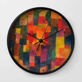 Paul Klee - Ohne Titel - No Title Wall Clock