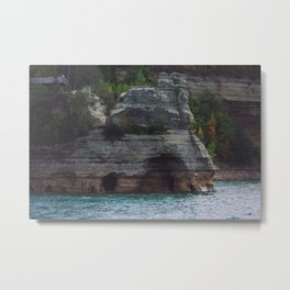 Pictured Rocks, MI Metal Print