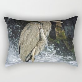 Great Blue Heron Canada Rectangular Pillow