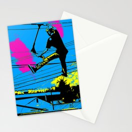 Tailgating - Stunt Scooter Tricks Stationery Cards