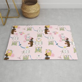 Easter Bunny Factory Rug