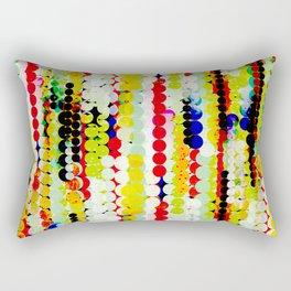 bohemian abstract pattern Rectangular Pillow