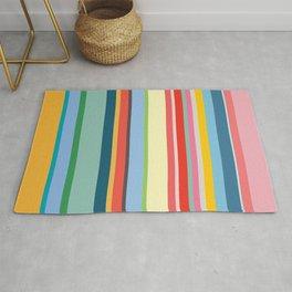 Coloured Stripes Rug