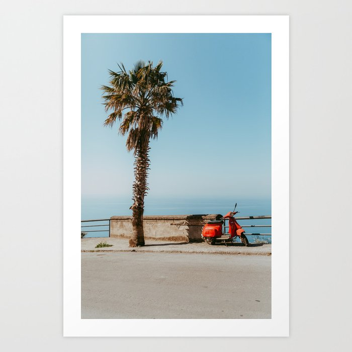 Italian summers Art Print