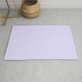 Solid Light Lilac Rug