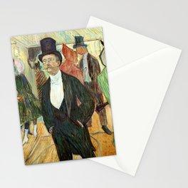 """Henri de Toulouse-Lautrec """"Monsieur Henri Fourcade au Bal de l'Opéra"""" Stationery Cards"""