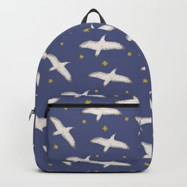 Find your wings - Seagull flying in the sky and under the sea Backpack