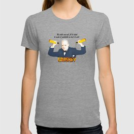 WINSTON AND WHISKEY  T-shirt