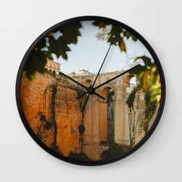 South of Spain  Wall Clock