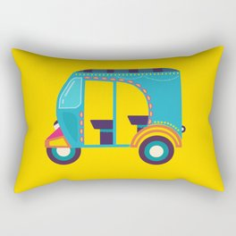 autorickshaw Rectangular Pillow