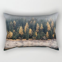 Foggy Reflection Rectangular Pillow