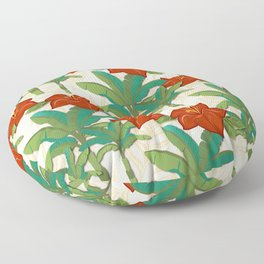 Life in the Tropics Floor Pillow