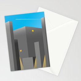 BUILDINGS_01-THE EMPIRE OF LIGHTS Stationery Cards