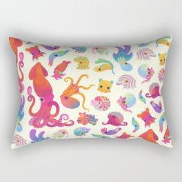 Cephalopod - pastel Rectangular Pillow