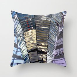 Reichstag Dome German Bundestag Berlin Germany Throw Pillow