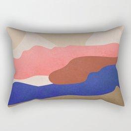 Find Me Where The Sunset #art print#illustration Rectangular Pillow