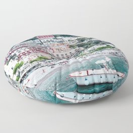 In Positano Floor Pillow