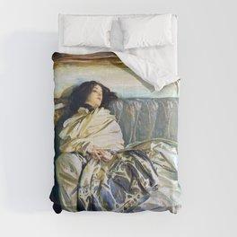 John Singer Sargent - Nonchaloir - Digital Remastered Edition Comforters