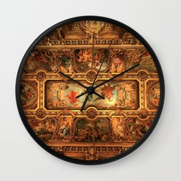 Midnight with Botticelli, Raphael, Michelangelo, & Perugino, Sistine Chapel, Rome Wall Clock