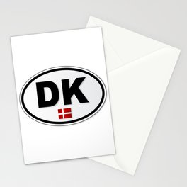 DK Plate Stationery Cards