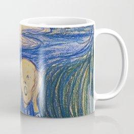 "Edvard Munch ""The Scream"" (1895)(pastel) Coffee Mug"