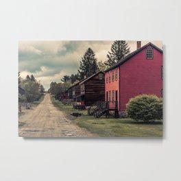 Eckley Miners Village Pennsylvania Historic Site Molly Maguires  Metal Print