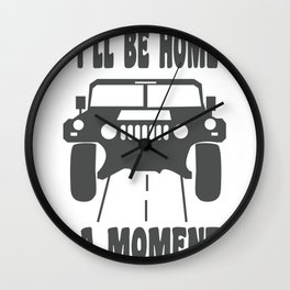Monster Truck USA American Gift Wall Clock