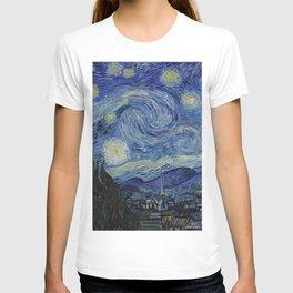 THE STARRY NIGHT - VAN GOGH T-Shirt