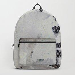 « autoportrait / dans mes brumes » Backpack