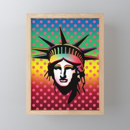 Statue of Liberty Framed Mini Art Print