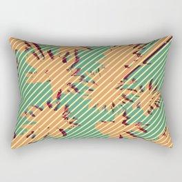Autumn beach Rectangular Pillow