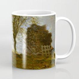 "Jean-François Millet ""Autumn Landscape with a Flock of Turkeys"" Coffee Mug"