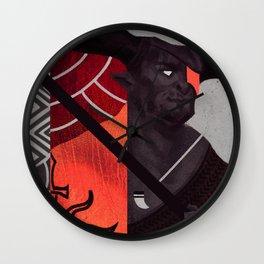 Iron Bull Wall Clock