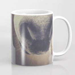 The curious girl Coffee Mug