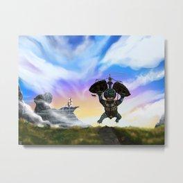 Engi-turtle Metal Print
