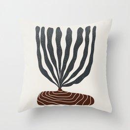 Modern Vase #2 Throw Pillow