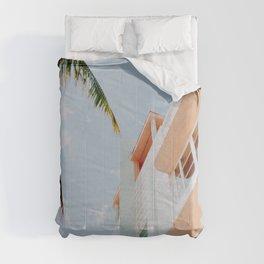 ocean drive / miami beach, florida Comforters