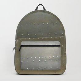 Vintage Aircraft Silver Fuselage Backpack