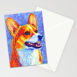 Mischief Maker - Pembroke Welsh Corgi Dog Stationery Cards
