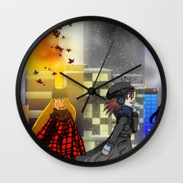 Seasons of Tyme Wall Clock