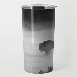 Bison Buffalo Animal Travel Mug