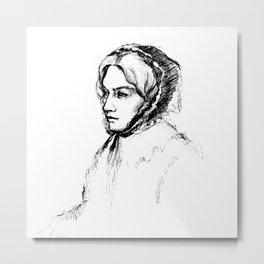 Museum Sketch: Feuerbach Metal Print