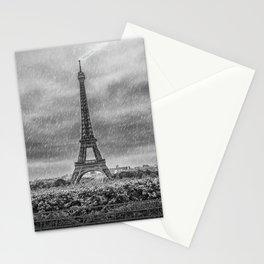 PARIS Eiffel Tower Thunderstorm Stationery Cards