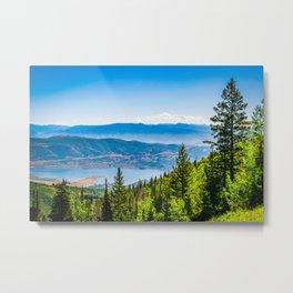 Park City Deer Valley Utah Landscape Print Metal Print