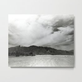 Obsidian Mountains of California Metal Print