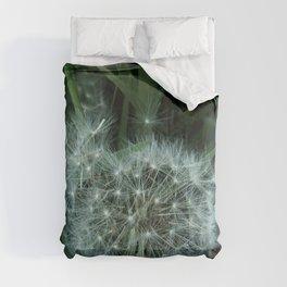 Dandelion 3 -diente de leon Comforters