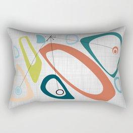 Mid Century Modern Art 02 Rectangular Pillow