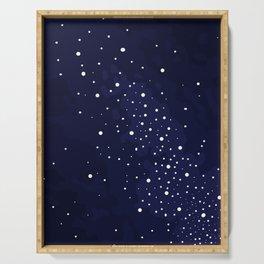 Starry Night Sky Serving Tray