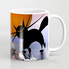 mooncats and the aliens Coffee Mug