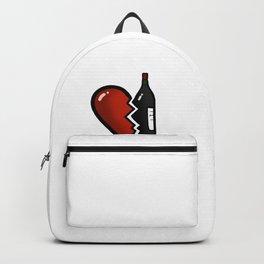 Breakup Gift T-Shirt I Heartbreak Divorce  Funny Backpack